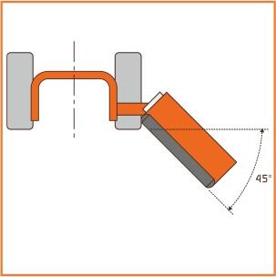 Trasmissione laterale ad ingranaggi