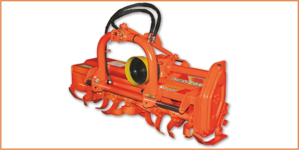 Fresatrice modello SEL nella versione con lo spostamento idraulico
