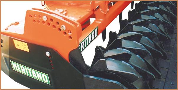 Regolazione del rullo di appoggio posteriore con perni