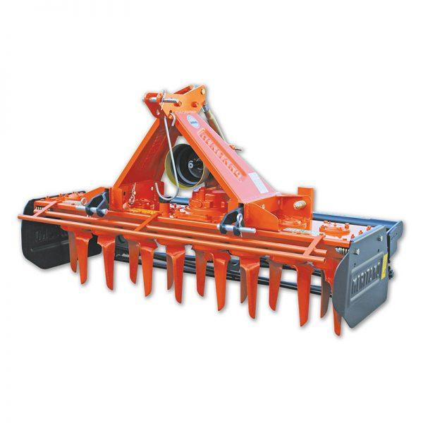Erpici rotanti con struttura leggera ma robusto e di facile adattabilità ai trattori della serie frutteto e vigneto
