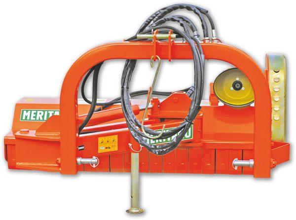 Trinciatrice con spostamento laterale idraulico per trattori serie frutteto e vigneto